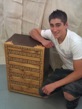 Grefg Miles, winner of Young Craftsman