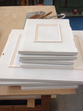 Applied moulding on doors