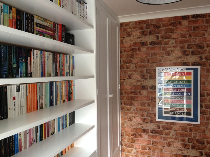 Shelf and wardrobe doors