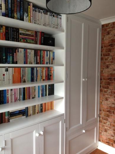 Open Shelf and double wardrobe