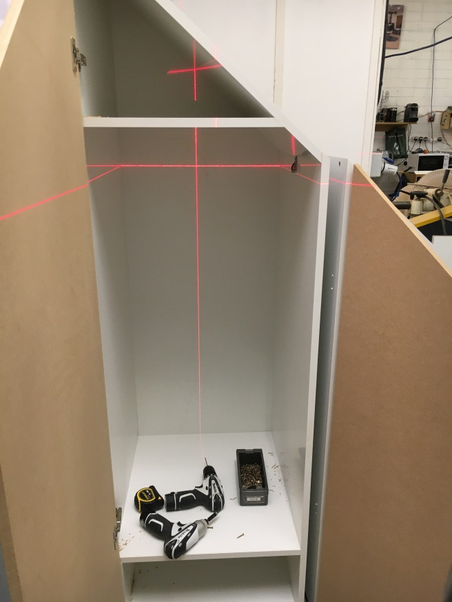 Using a laser level