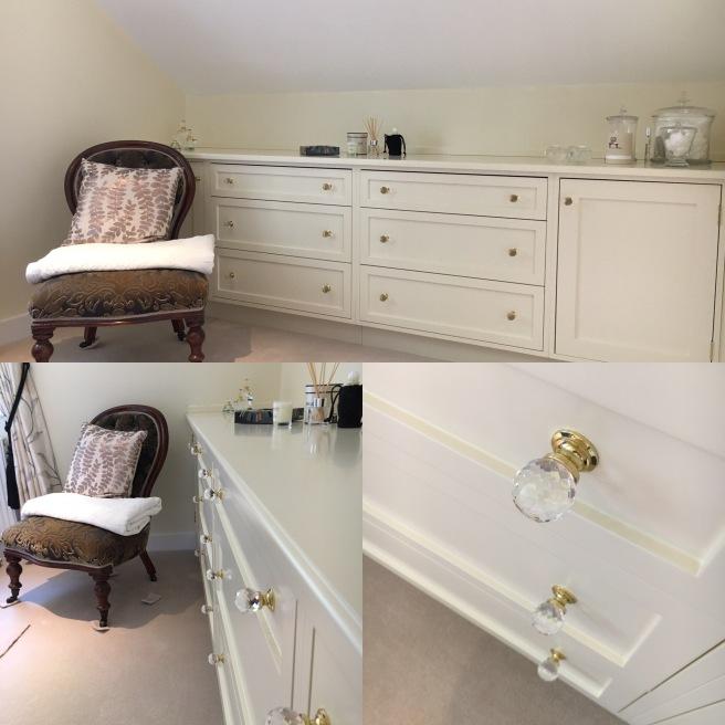 Dressing room storage