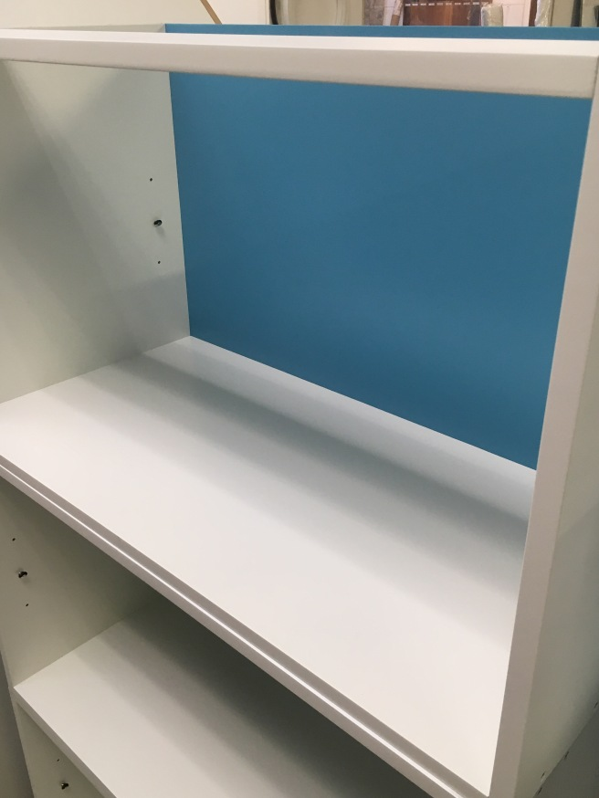 Storage cabinets with adjustable shelves