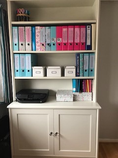 Home office storage cupboard
