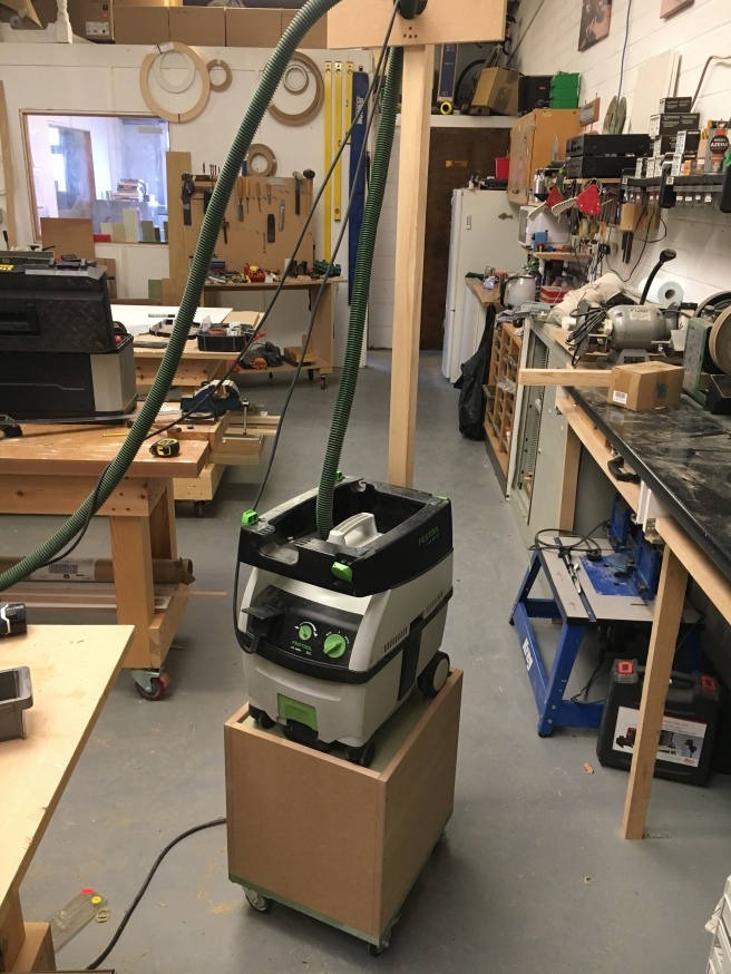 Homemade Festool boomarm for use in my workshop